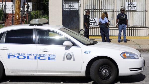 Автомобиль полиции в США