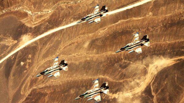 Звено истребителей F-16l Sufa ВВС Израиля
