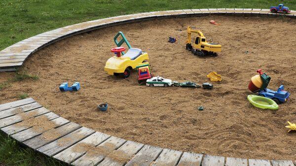 Песочница. Архивное фото