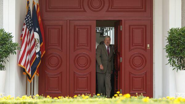 Новый посол США в Китае Терри Бренстед. 28 июня 2017