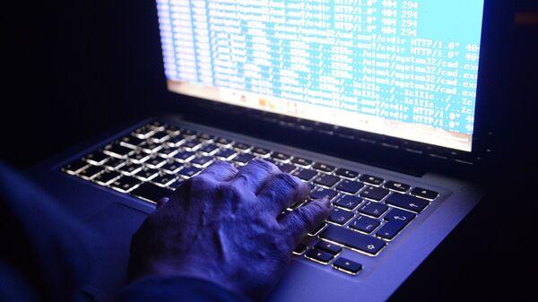 Хакер в действии