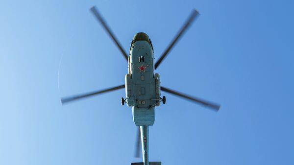 Вертолет ВВС России Ми-8МТ. Архивное фото