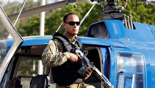 Офицер Оскар Перес. Архивное фото