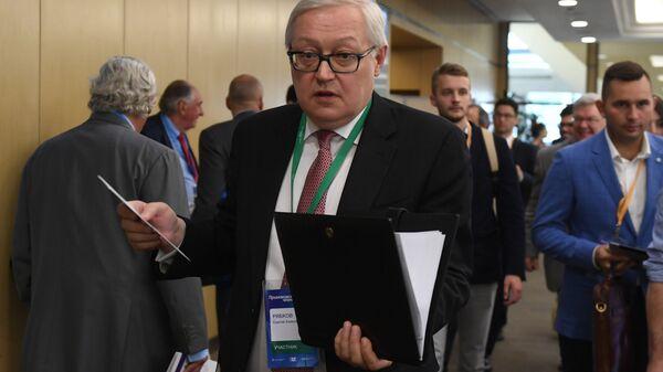 Заместитель министра иностранных дел РФ Сергей Рябков. Архивное фото