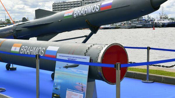 Российско-индийская ракета Брамос. Архивное фото
