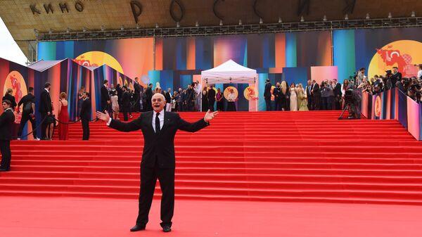 Никита Михалков на церемонии закрытия 39-го Московского международного кинофестиваля