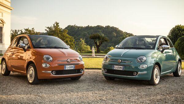Автомобиль Fiat 500 Anniversario. Архивное фото