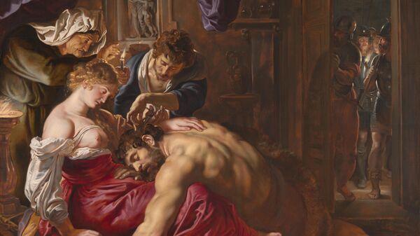Питер Пауль Рубенс. Самсон и Далила. 1609
