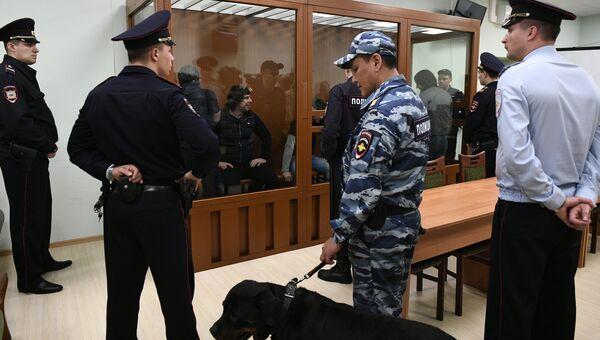 Обсуждение в Московском военной окружном суде вердикта присяжных по делу об убийстве политика Бориса Немцова. Архивное фото