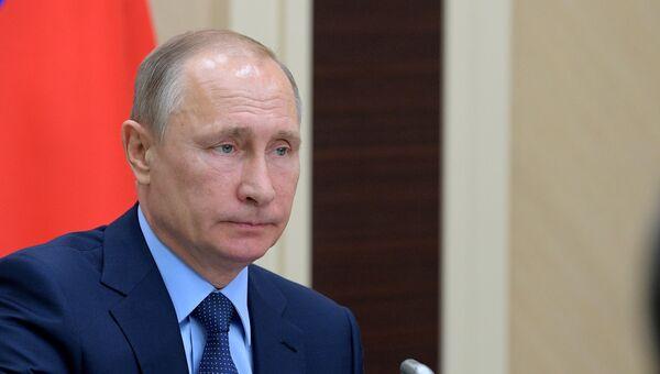 Владимир Путин проводит заседание Совета по стратегическому развитию и приоритетным проектам. 5 июля 2017