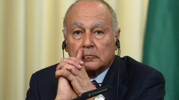 Генеральный секретарь Лиги арабских государств (ЛАГ) Ахмед Абуль-Гейт. Архивное фото