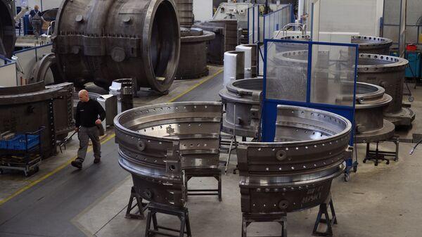 Производство газовых турбин