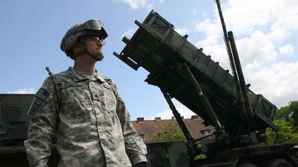 Батарея американских ракет ПВО Пэтриот в Польше