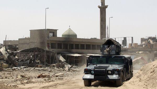 Иракские военные в Мосуле. Архивное фото