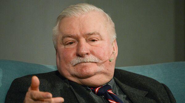Бывший президент Польши Лех Валенса