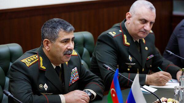 Министр обороны Азербайджана генерал-полковник Закир Гасанов
