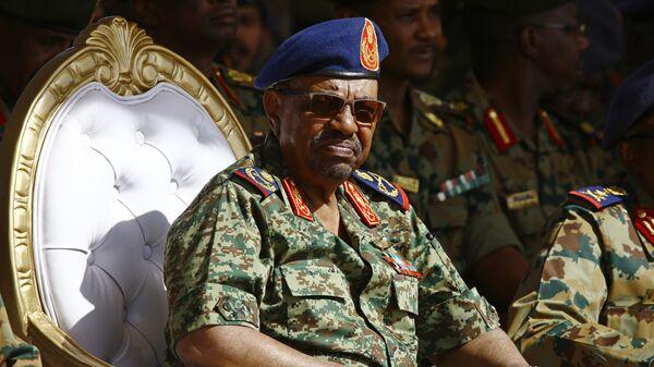 Президент Судана Омар аль-Башир . Архивное фото