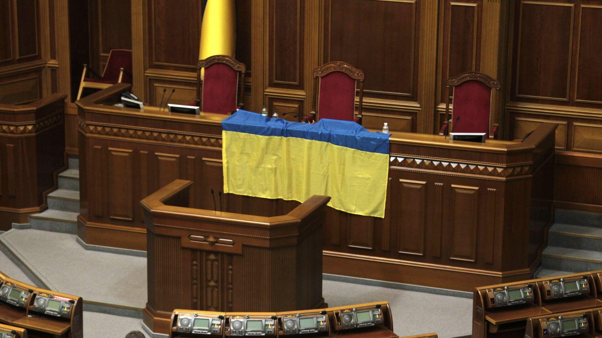 Зал Верховной Рады Украины - РИА Новости, 1920, 17.09.2020