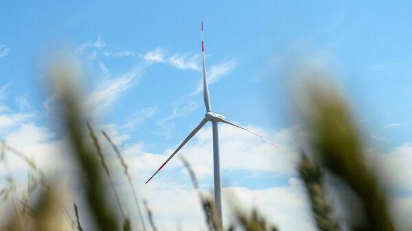 Строительство первого в России ветропарка компанией Фортум в поселке Колхозный Ульяновской области