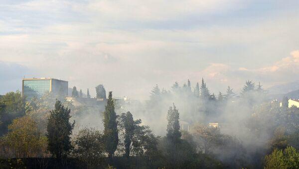 Лесные пожары в Черногории. 16 июля 2017 года
