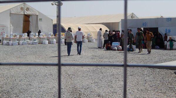 Лагерь беженцев к западу от Эрбиля. Архивное фото