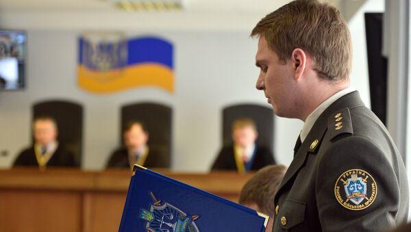 Военный прокурор генеральной прокуратуры Украины Руслан Кравченко. Архивное фото