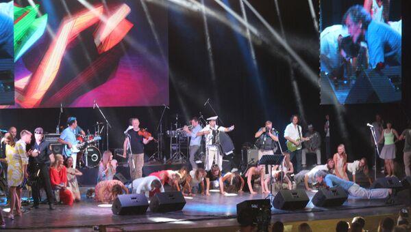 Концерт Эмира Кустурицы в Крыму. 23 июля 2017