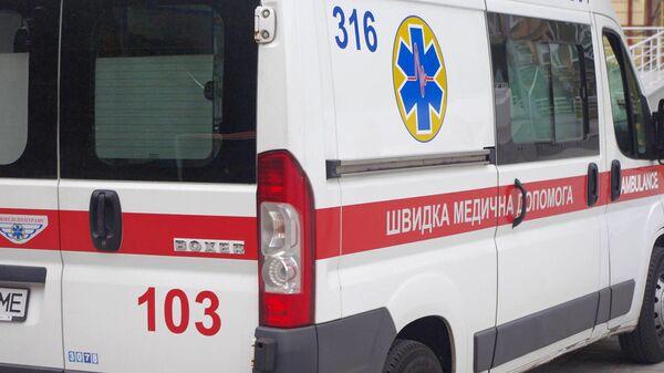 Автомобиль скорой помощи Украины