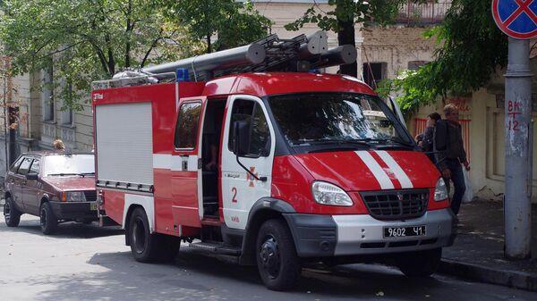 Пожарная машина на Украине