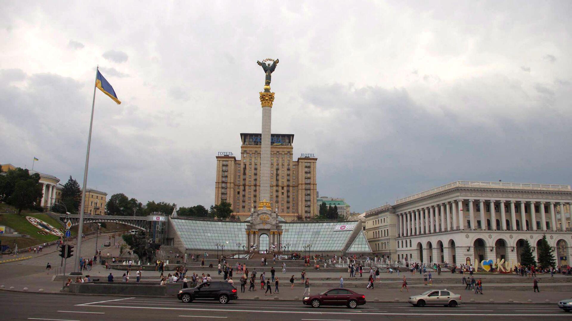 Площадь Независимости в Киеве  - РИА Новости, 1920, 11.12.2020
