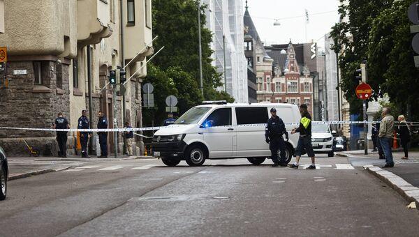 Наезд автомобиля на толпу в Хельсинки. Архивное фото