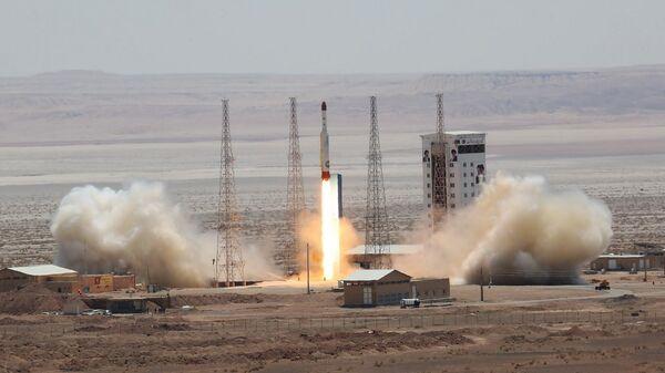 Испытание ракеты-носителя Симорг в Иране. 27 июля 2017