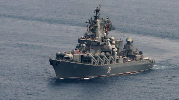 Гвардейский ракетный крейсер ВМФ РФ Варяг