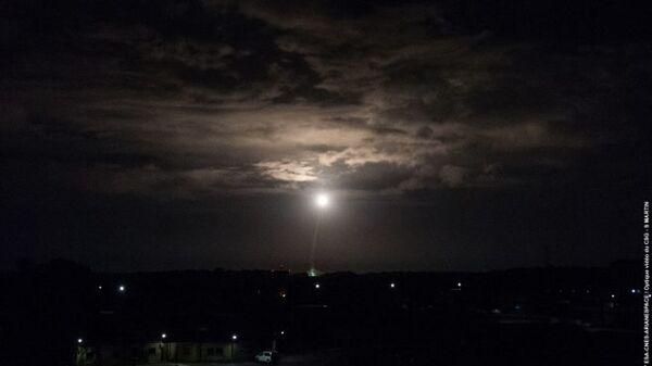 Старт ракеты-носителя Vega с космодрома Куру во Французской Гвиане