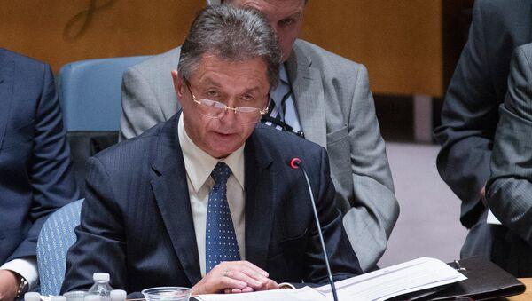 Постоянный представитель Украины при ООН Юрий Сергеев. Архивное фото