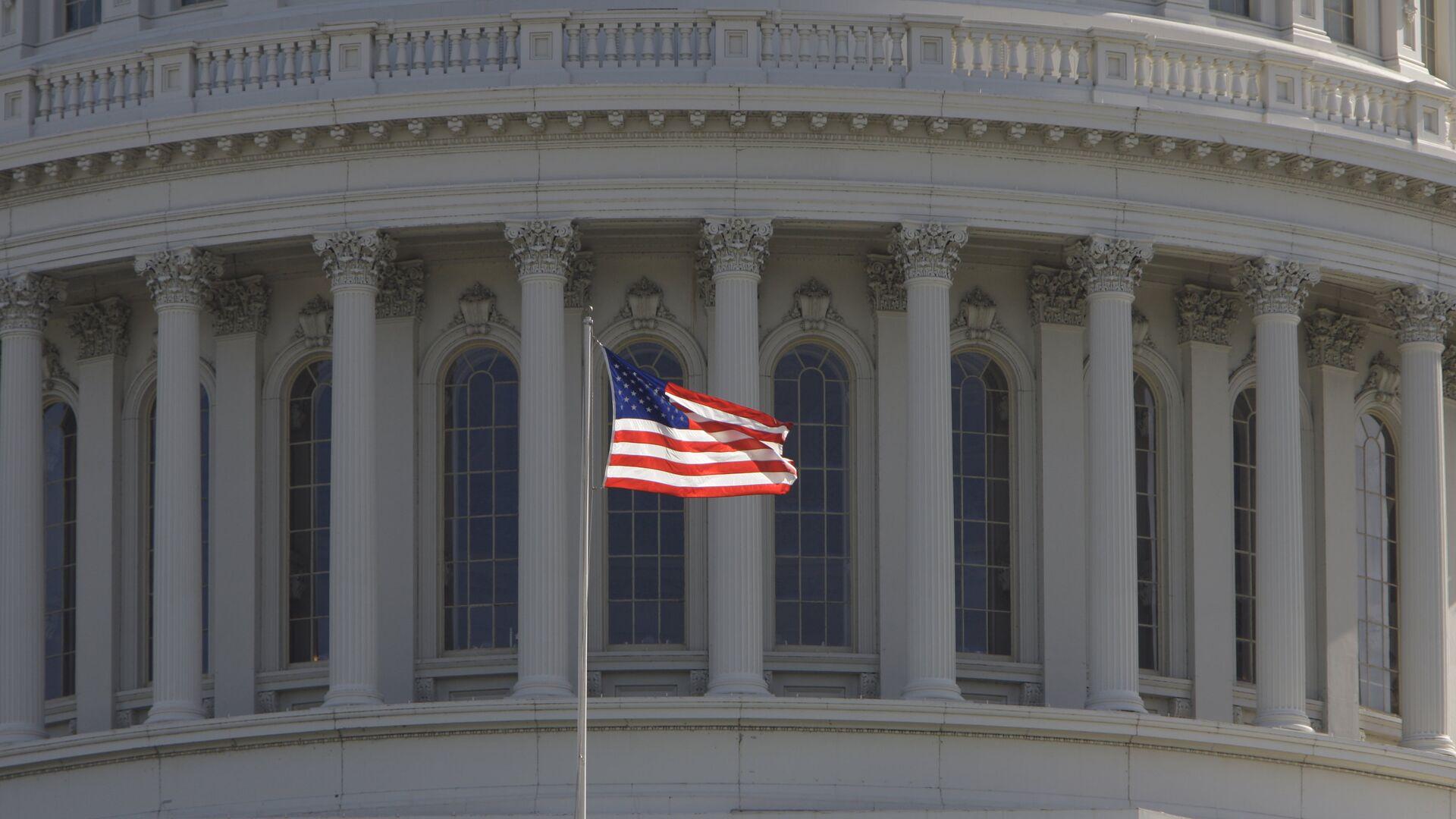 Капитолий, здание в Вашингтоне, где заседает конгресс США - РИА Новости, 1920, 04.02.2021