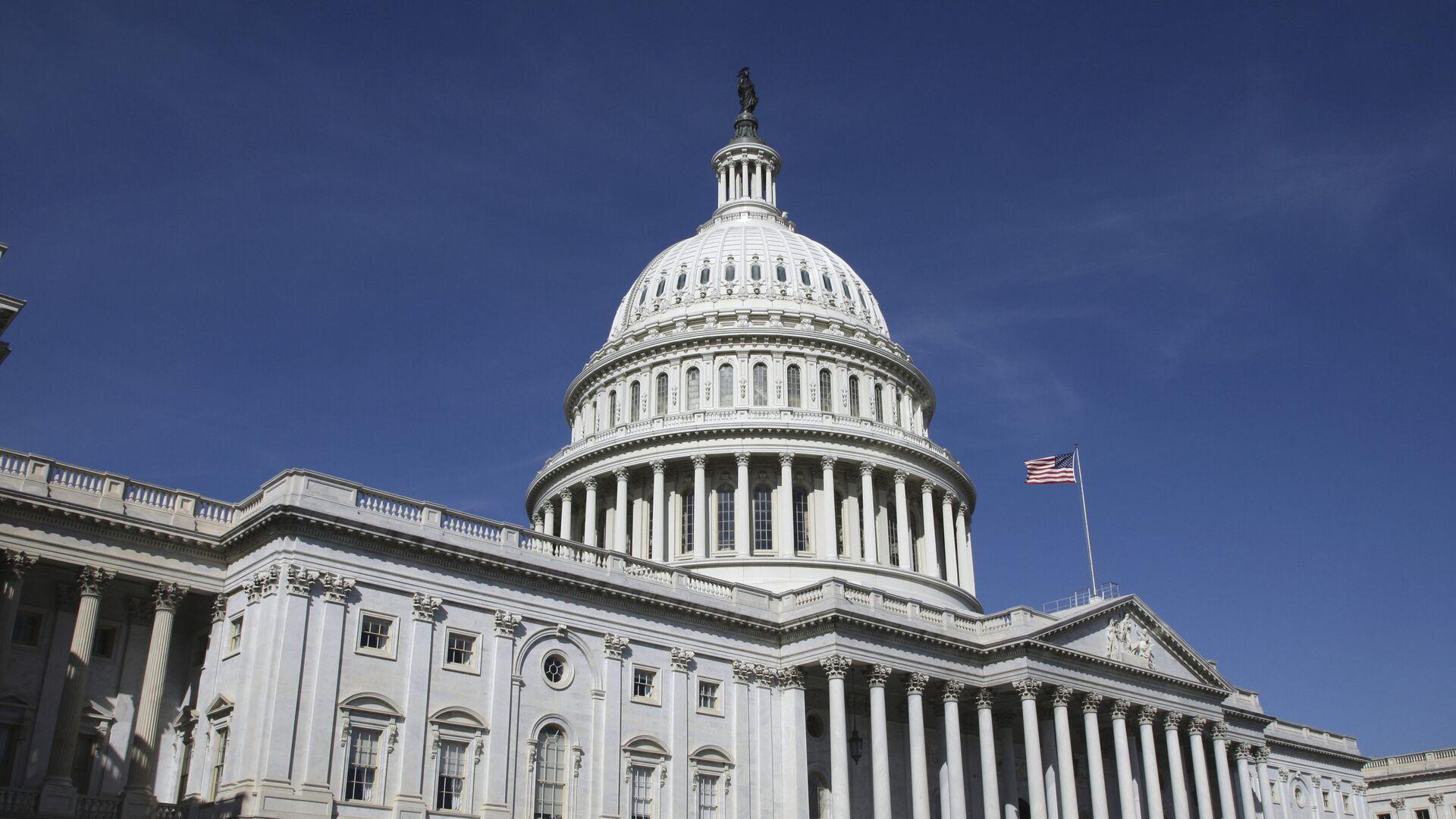 Здание конгресса США в Вашингтоне - РИА Новости, 1920, 31.07.2021