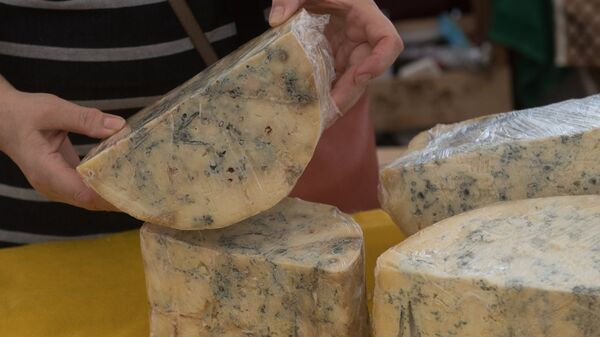 Сыр с голубой плесенью от российских фермеров