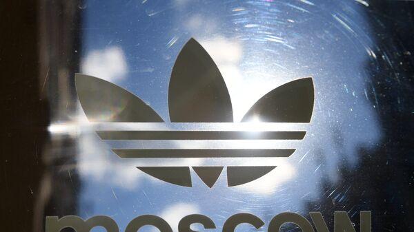 Логотип немецкой компании спортивной одежды и обуви Adidas