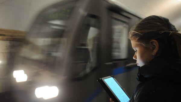 Кольцевая линия московского метро оборудована Wi-Fi-Интернетом
