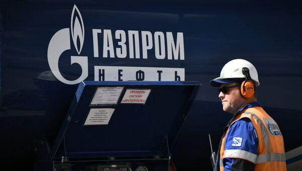 Цистерна Газпром Нефть. Архивное фото