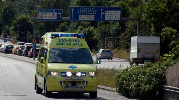Машина скорой помощи в Швеции