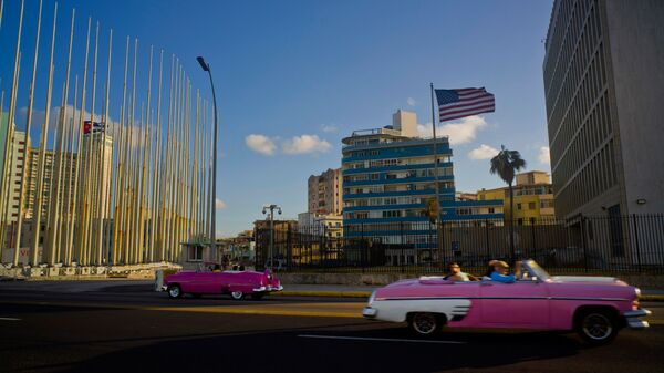 Посольство США в Гаване. Архивное фото