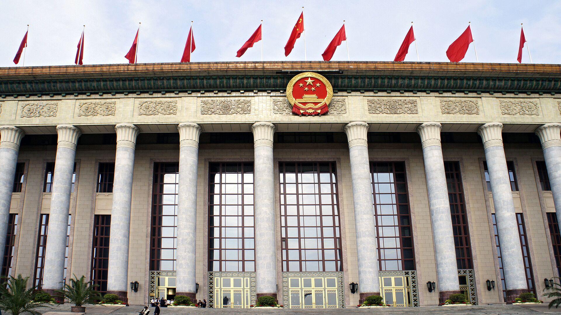 Здание китайского парламента в Пекине - РИА Новости, 1920, 02.11.2020