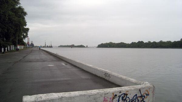Калининградский морской канал и порт в Светлом