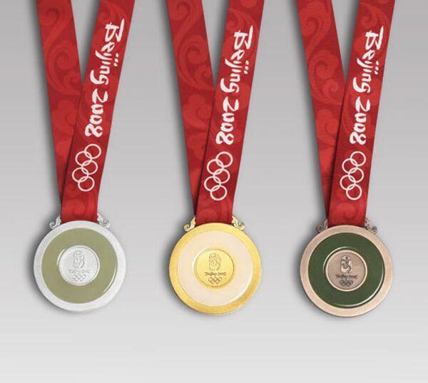 Медали  Пекинской Олимпиады-2008