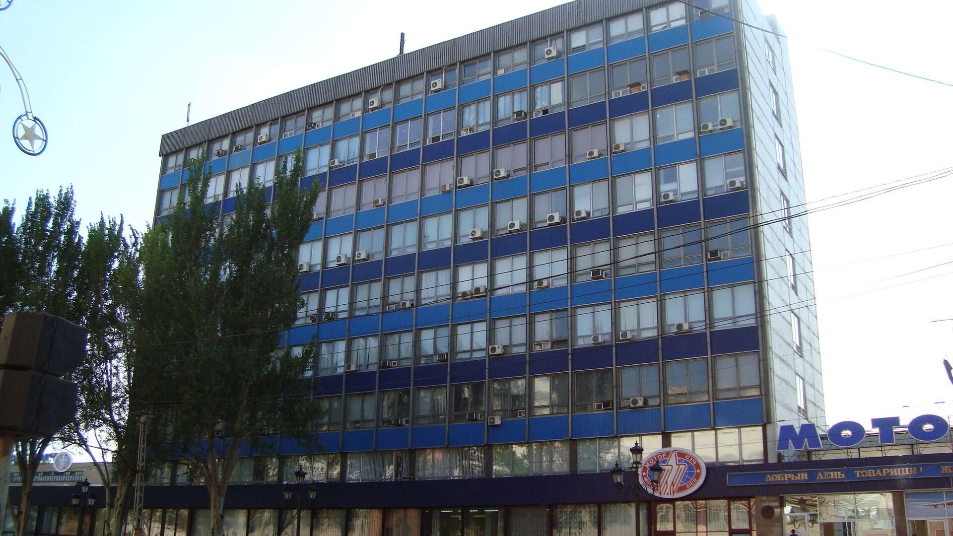Административное здание предприятия «Мотор Сич», расположеное на юго-востоке Украины в городе Запорожье - РИА Новости, 1920, 20.03.2021