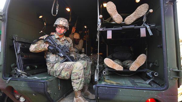 Ежегодные совместные военные учения Южной Кореи и США. Архивное фото