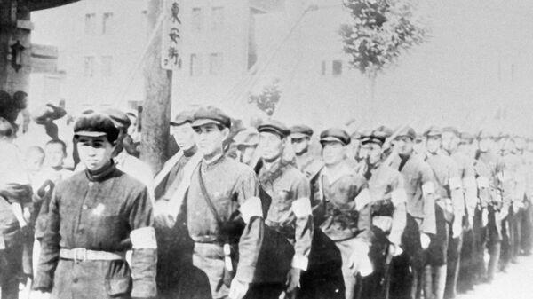 Рабоче-крестьянские отряды Китая во время борьбы с японскими захватчиками