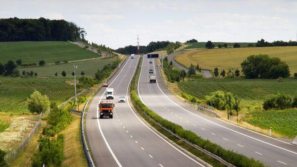 Автомобильная дорога в Чехии